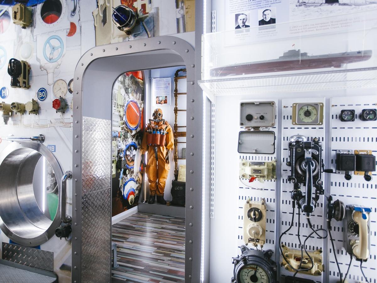 Зал с дизельными и атомными подлодками открылся в музее «Красного Сормова» - фото 1