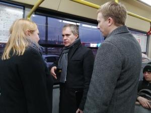 Мэр Нижнего Новгорода попробовал добраться до работы на автобусе