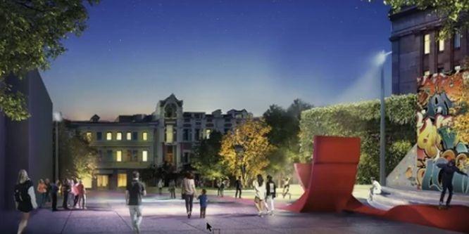 Деревья в кадках и новые скверы: как преобразится улица Большая Покровская - фото 5